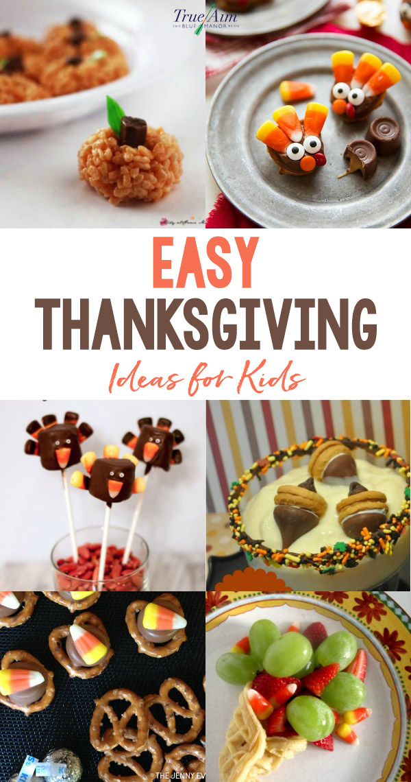 We love to craft and bake, so combining the two is a favorite! Here are some easy Thanksgiving food ideas for kids. Make kid-friendly turkeys, pumpkins, trail mixes, and more!