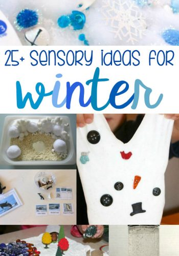 25+ Winter Sensory Ideas for Kids