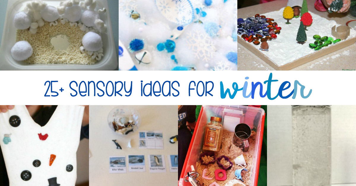 25 Of The Best Winter Sensory Ideas And Activities For Kids