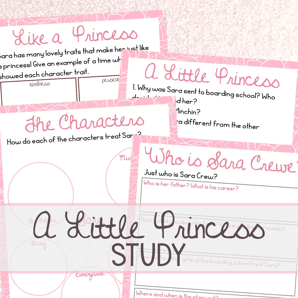 A Little Princess is one of my favorite stories! It is filled with great lessons for kids and adults alike. Study this treasured classic with this A Little Princess book study.