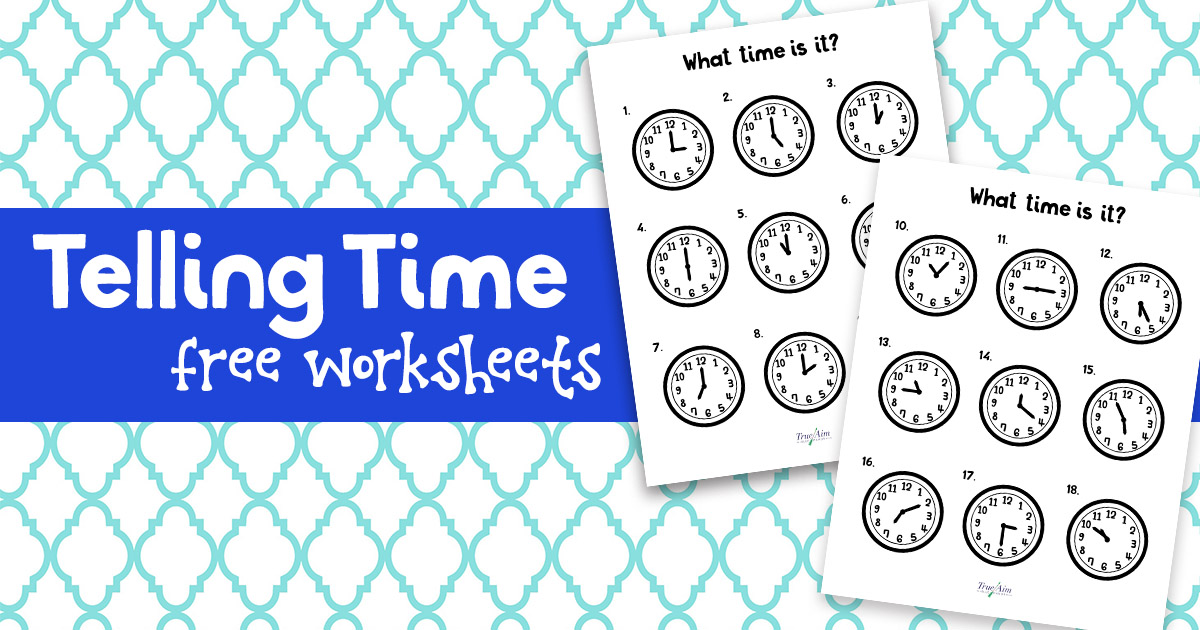 Teaching Telling Time With Free Printable Worksheets. Grab Your Free Telling Time Worksheets. Printable. Telling Time Printable Worksheets At Clickcart.co