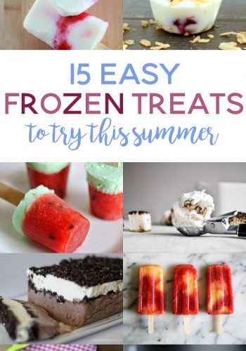 15 Easy Frozen Treats to Try This Summer