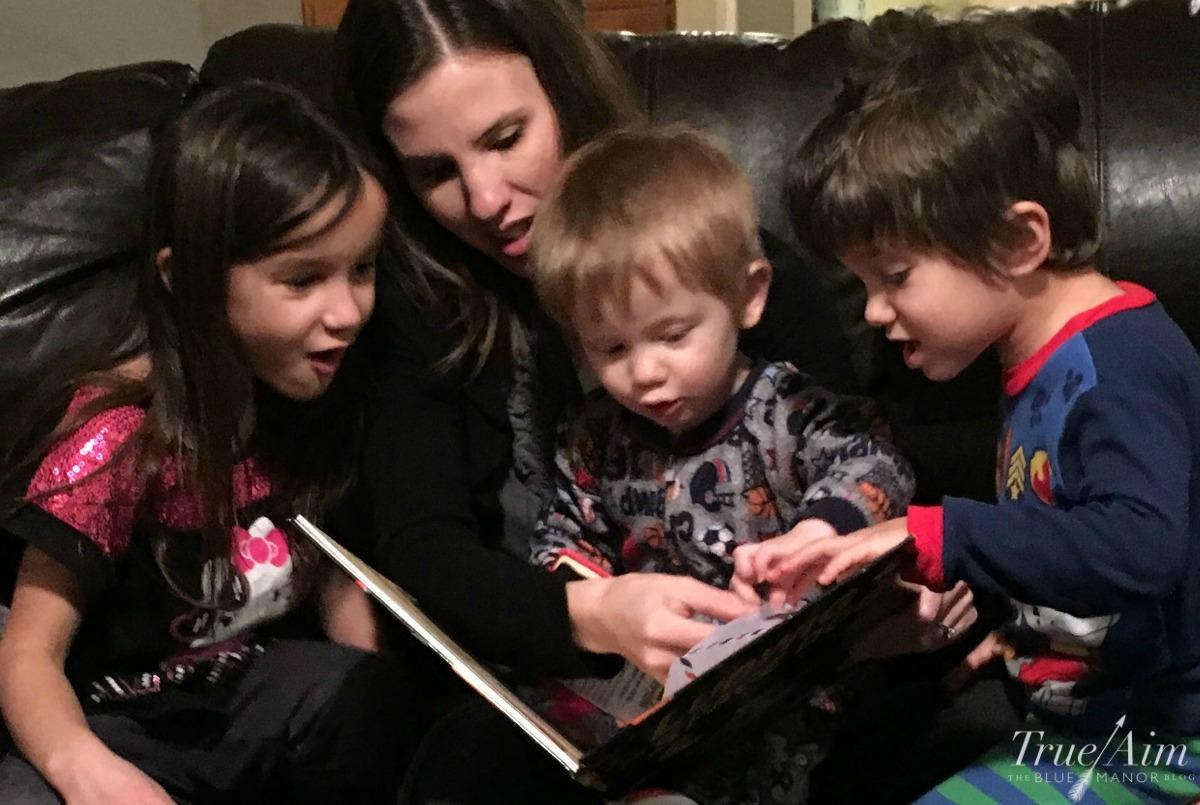 reading aloud in your homeschool