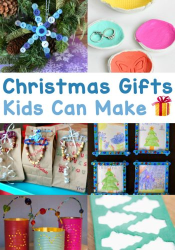 The Very Best Christmas Gifts That Kids Can Make