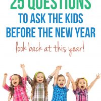 25 Questions to Ask Before the New Year