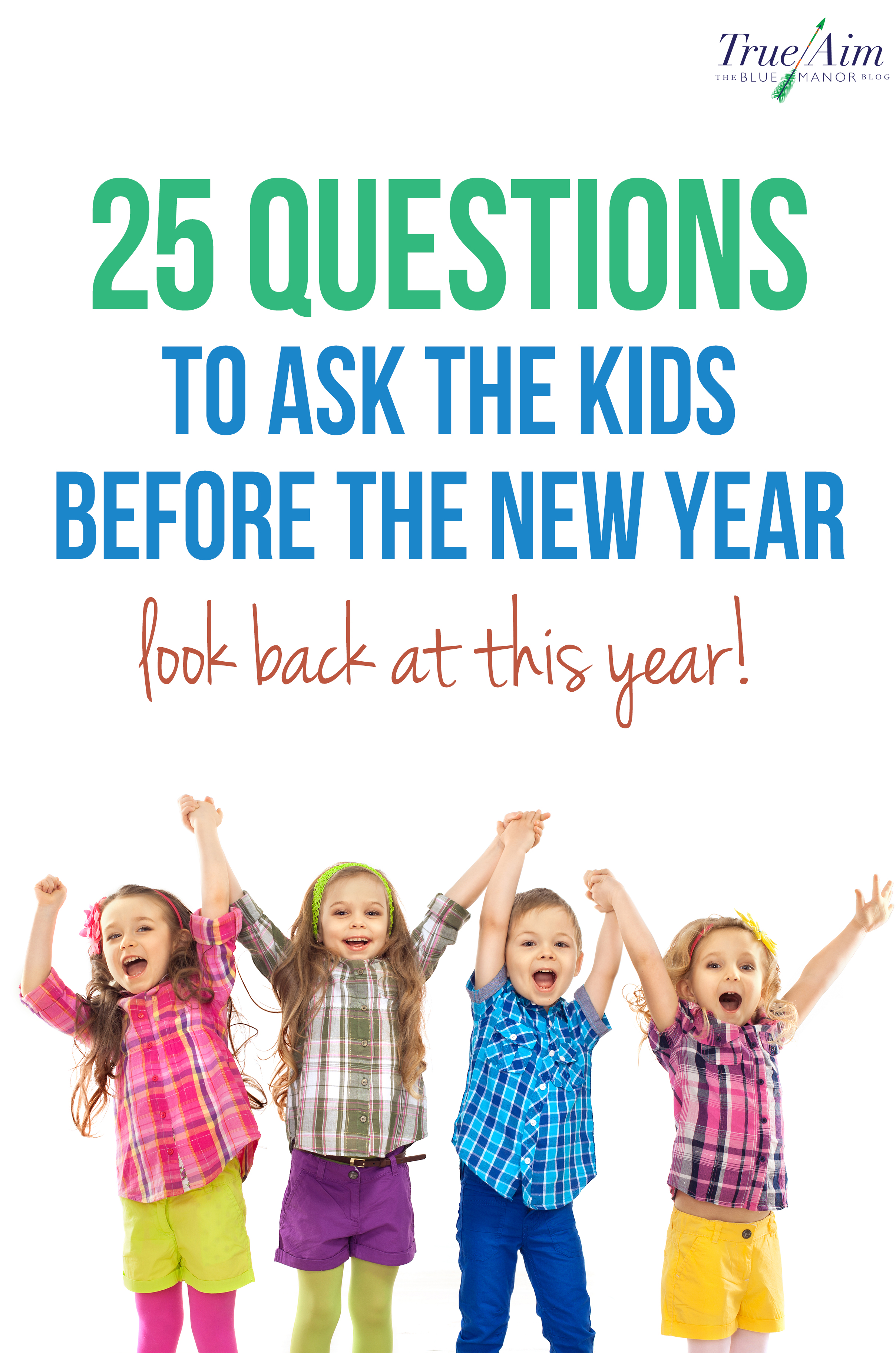 Grab the kids and think about all of the exciting things that happened in the previous year before New Years Day arrives!