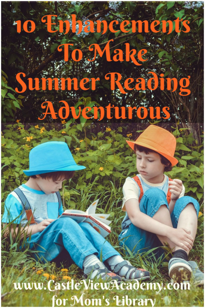 One way to liven up summer reading is to incorporate complimentary activities into the stories.