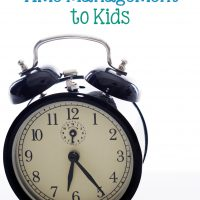 3 Easy Ways to Teach Time Management to Kids