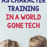 Manners as Character Training in a World Gone Tech