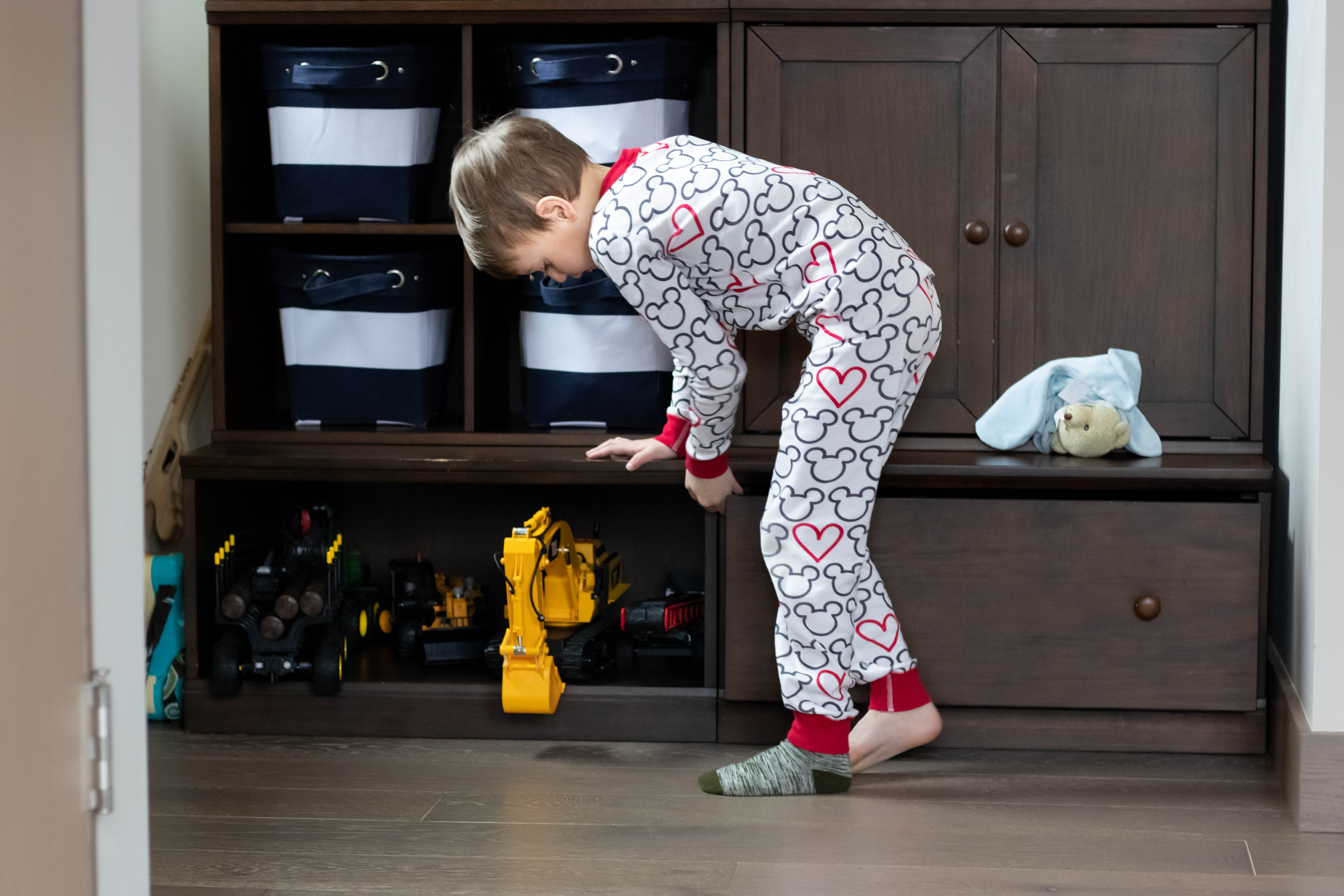 nightly clean up routine for kids