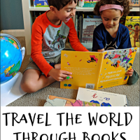 Travel the World Through Books with your Kids!