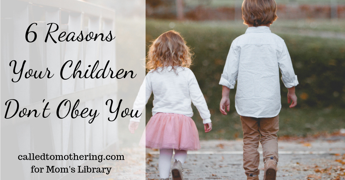 6 Reasons Your Children Don't Obey-horizontal