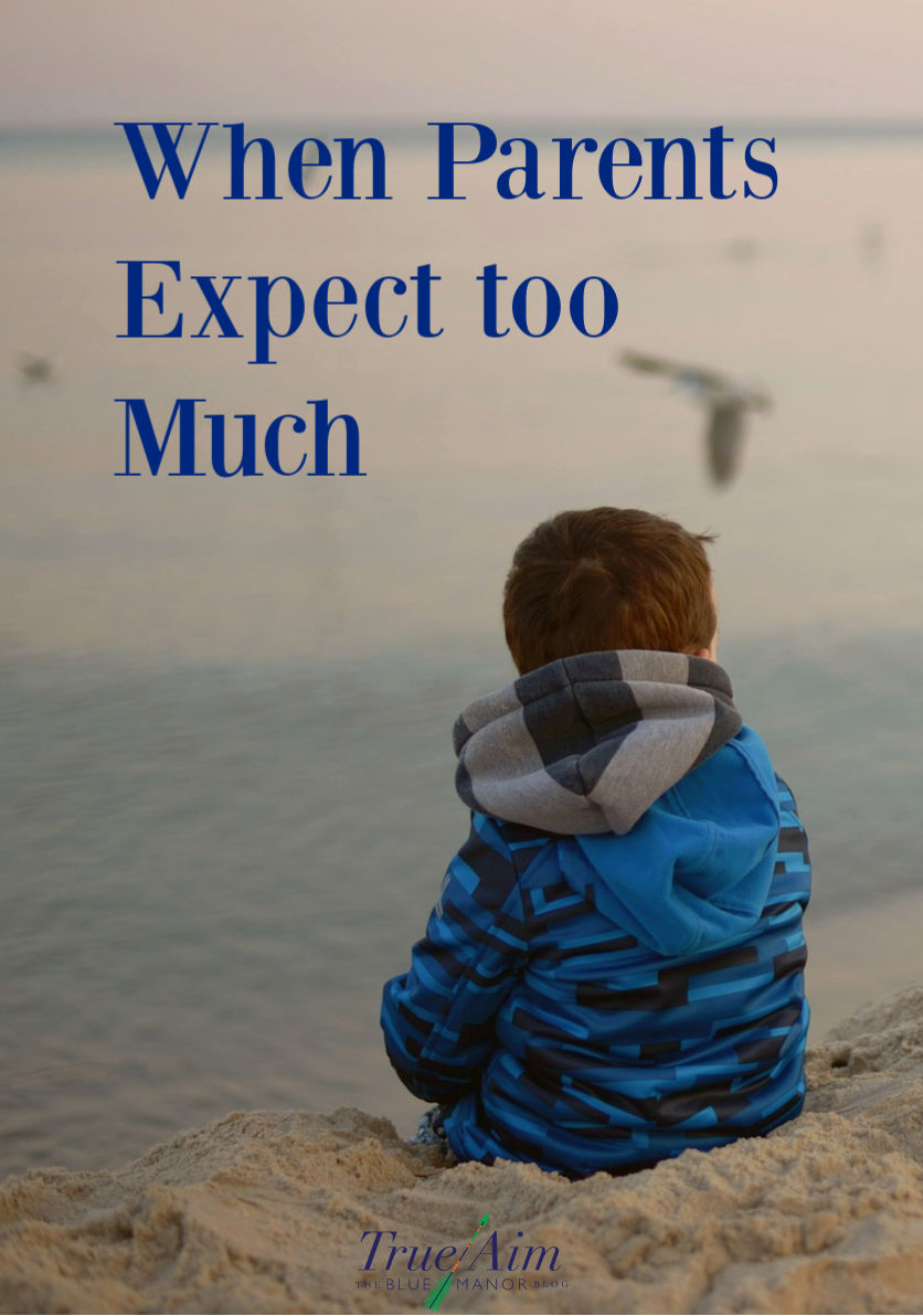 parents expect too much