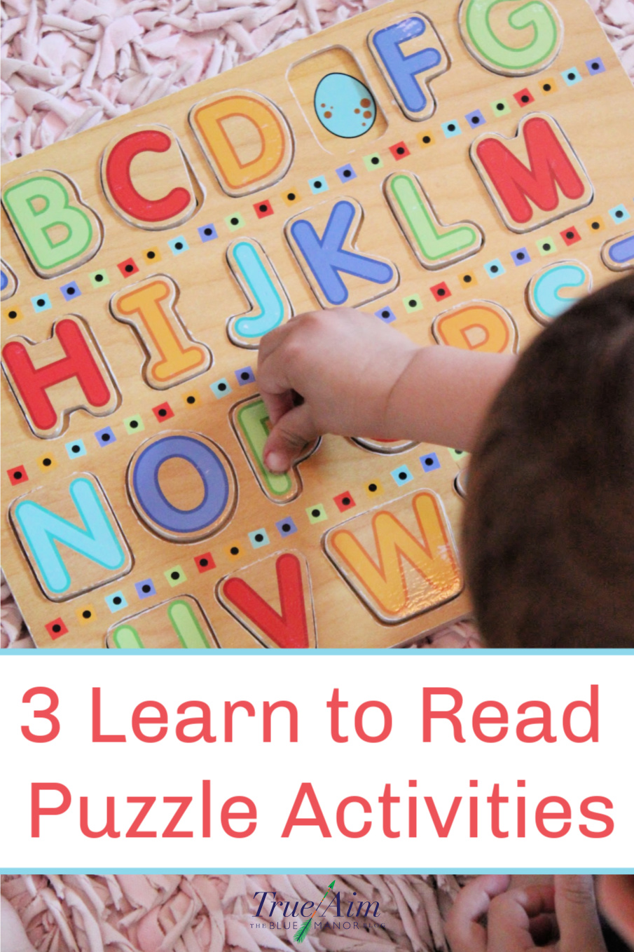 letter Puzzle activities