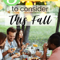 3 Celebrations to Consider this Fall.