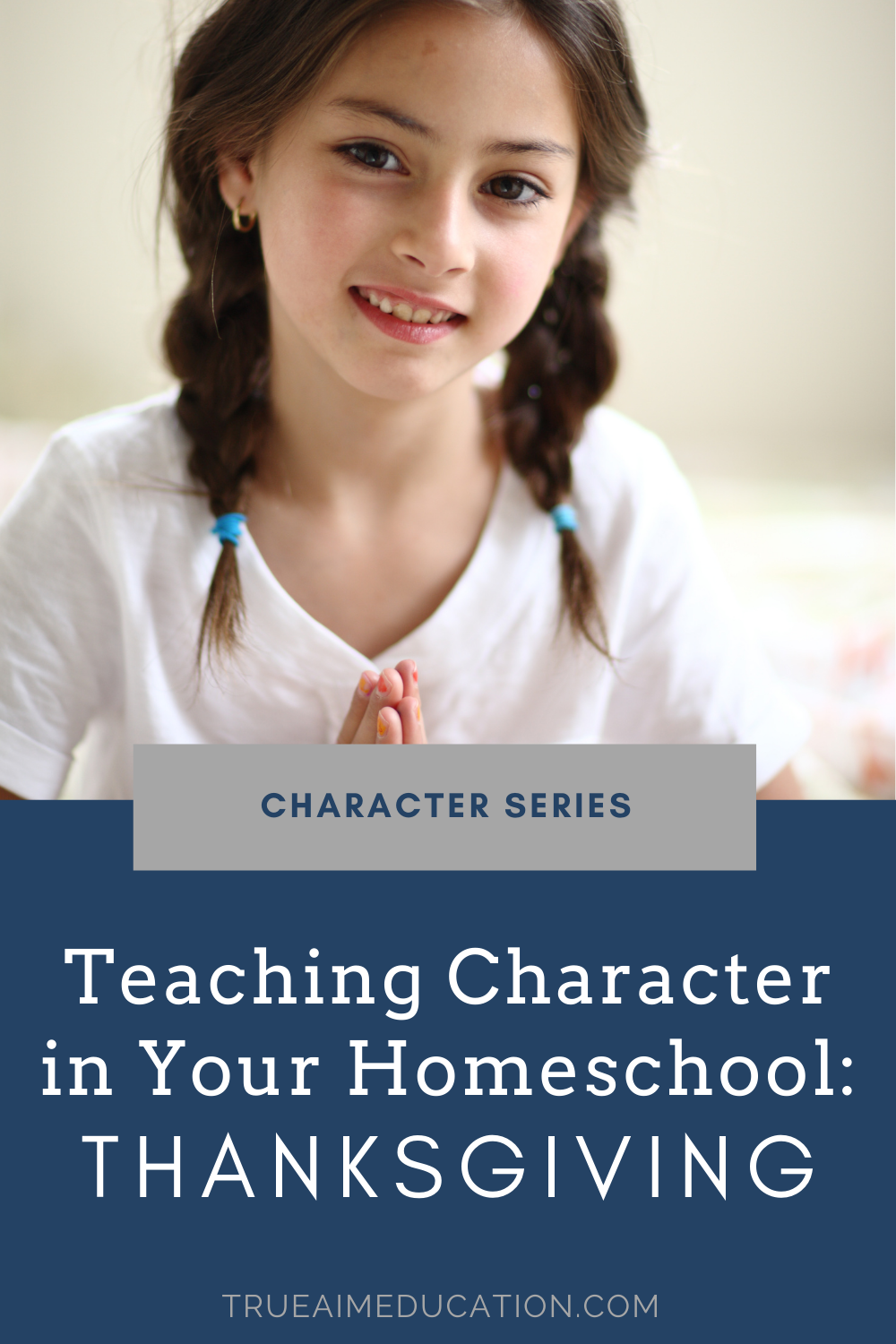 Teaching character in your homeschool - thanksgiving