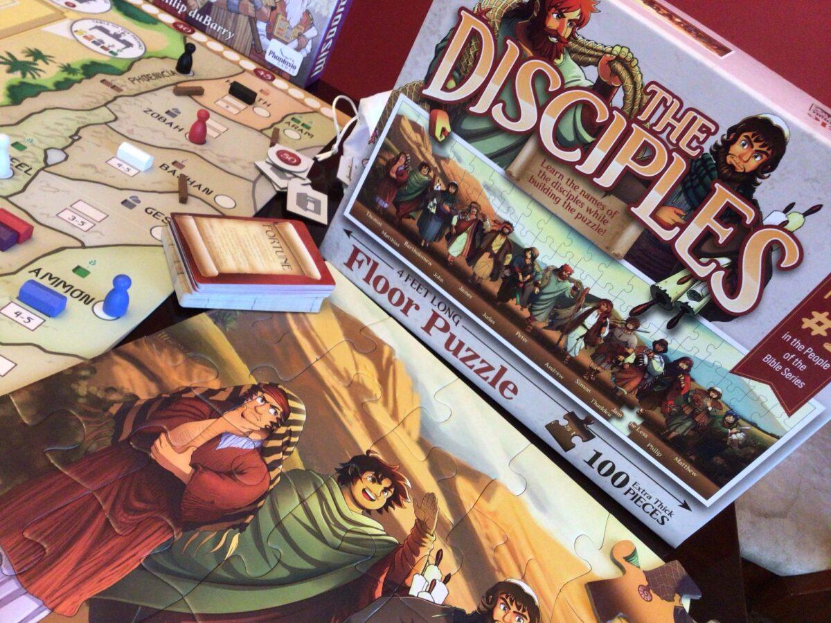 bible puzzle disciples