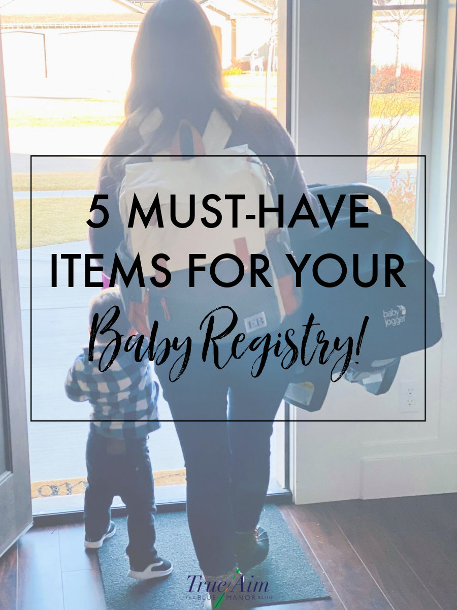 5 must have items for your baby registry