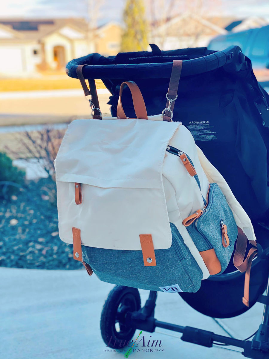 diaper bag back pack with stroller straps - items for your baby registry