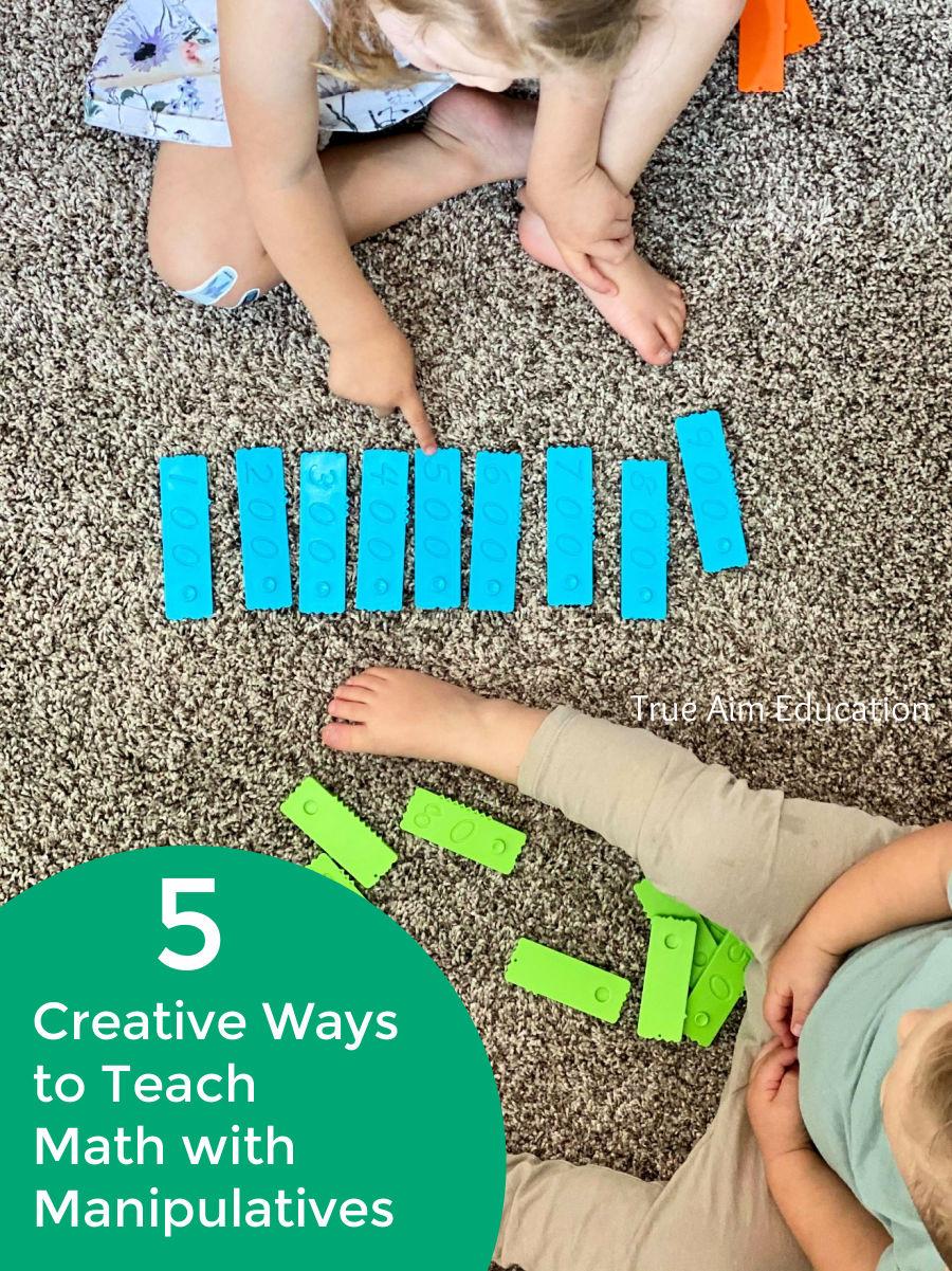 creative ways to teach math with manipulatives